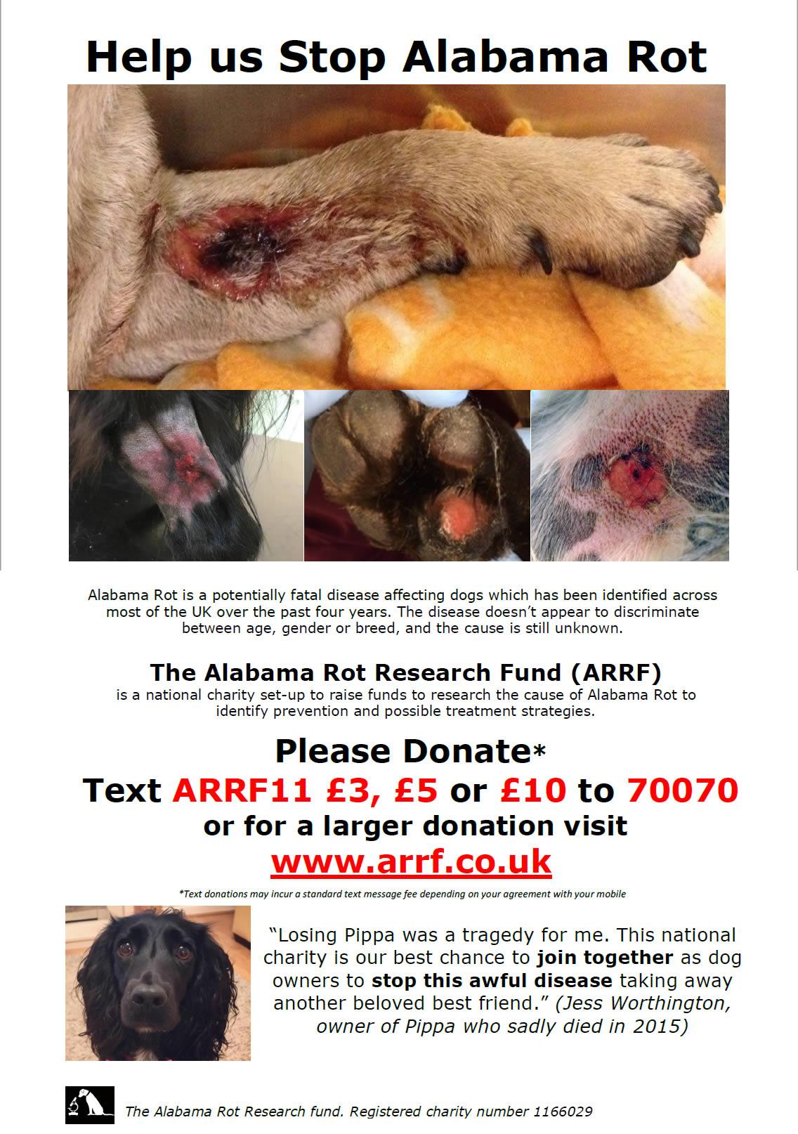 Help us stop Alabama Rot